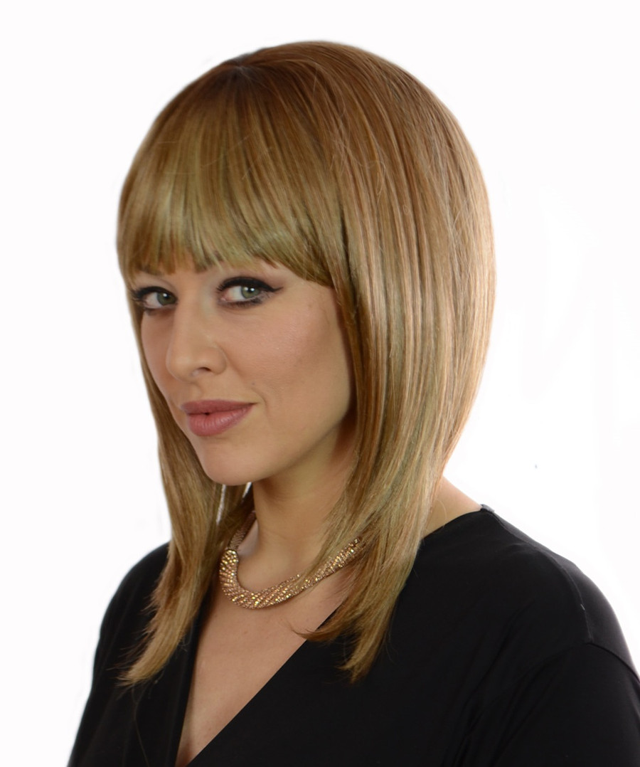 Alix Peacon Swirl Blonde Wig