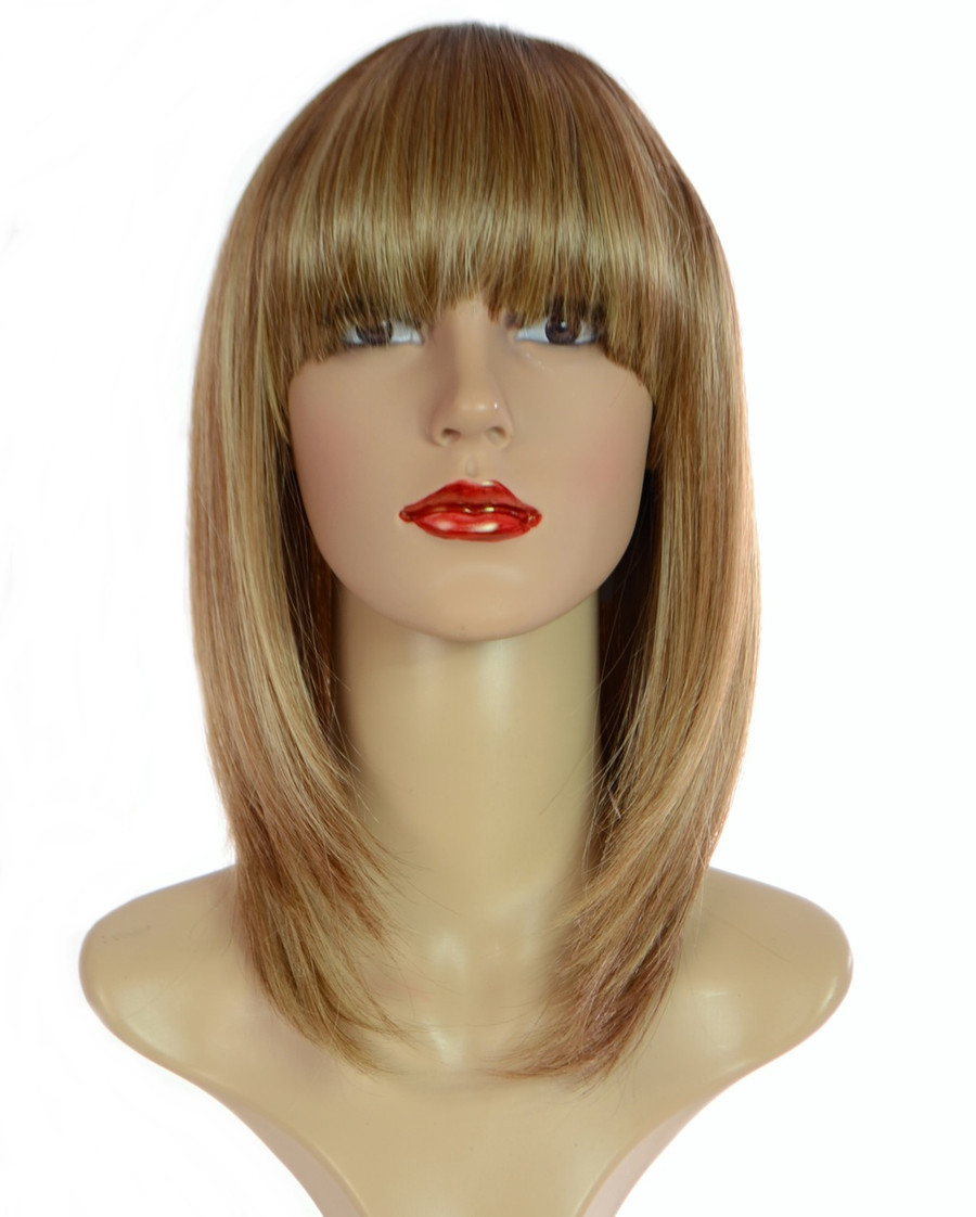 Alix Peacon Swirl Blonde Bob Wig