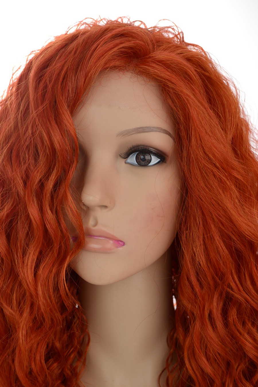 Rebekah Lace Front Wig in Natural Red