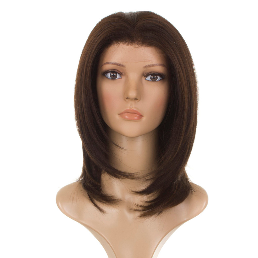 Lace Front Coco Brown Wig