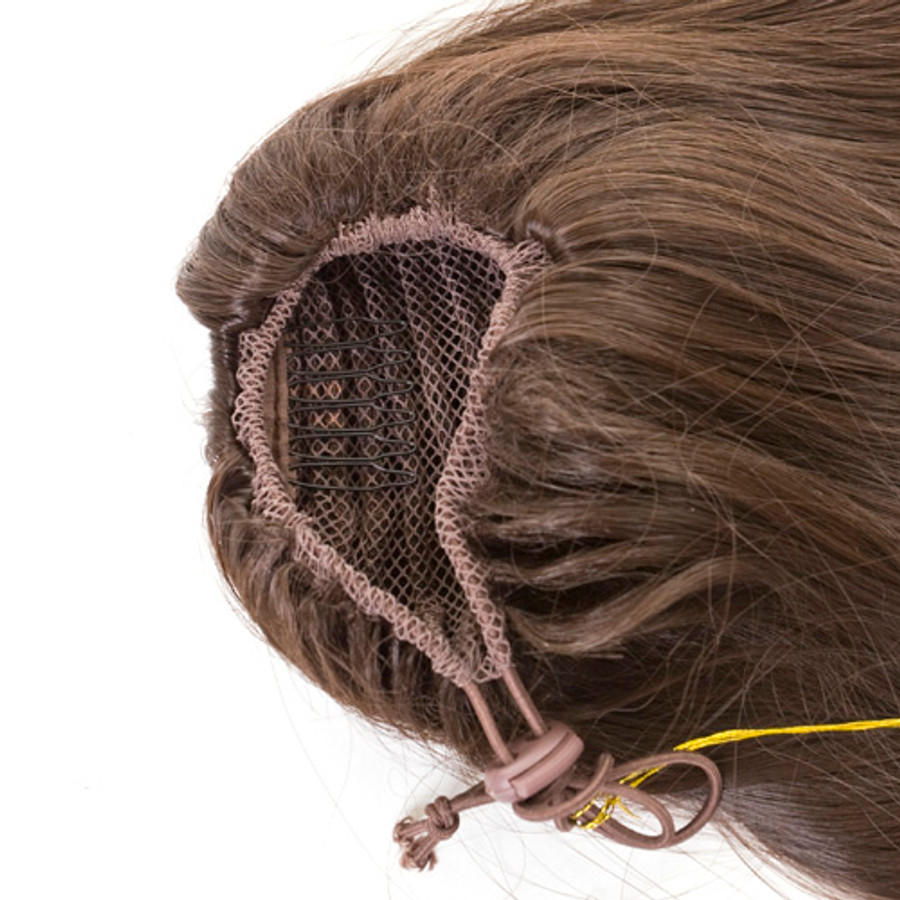 Hidden Comb Drawstring Elasticated Fastening Hairpiece Ponytail