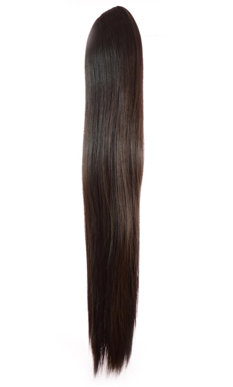 Pony Straight Dark Brown 6B