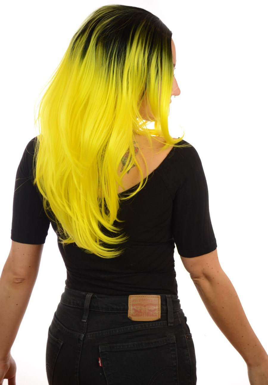 Snooki Wig Rooted Forsythia Yellow