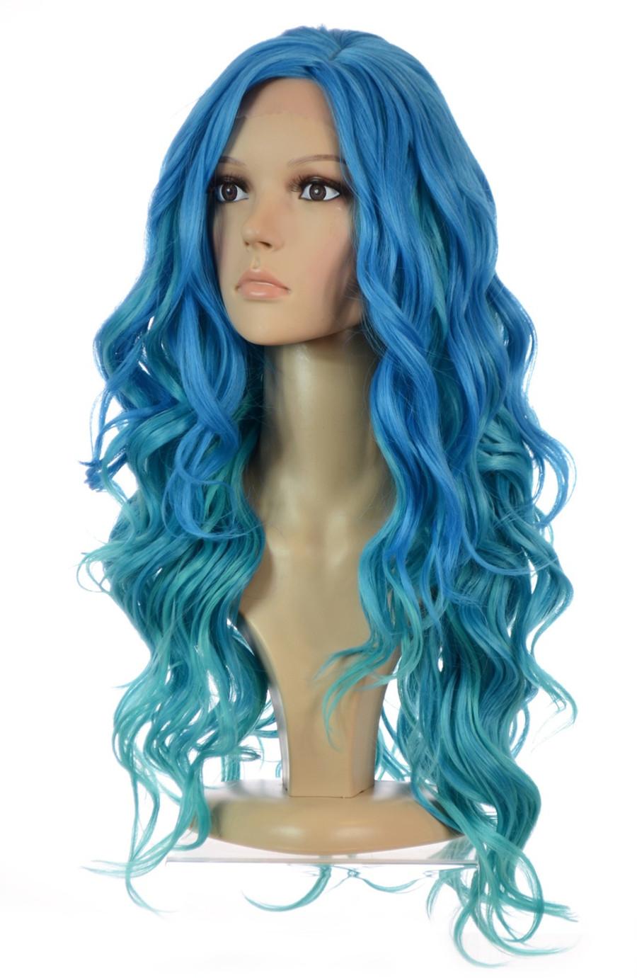 Blue Wig Carnival-Doll