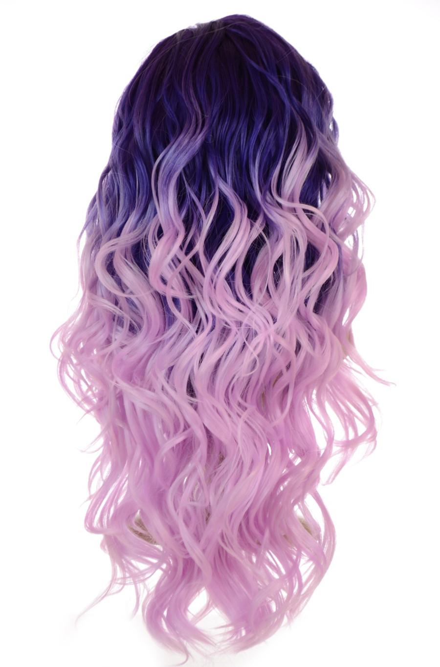 Carnival-Doll Purple Wig