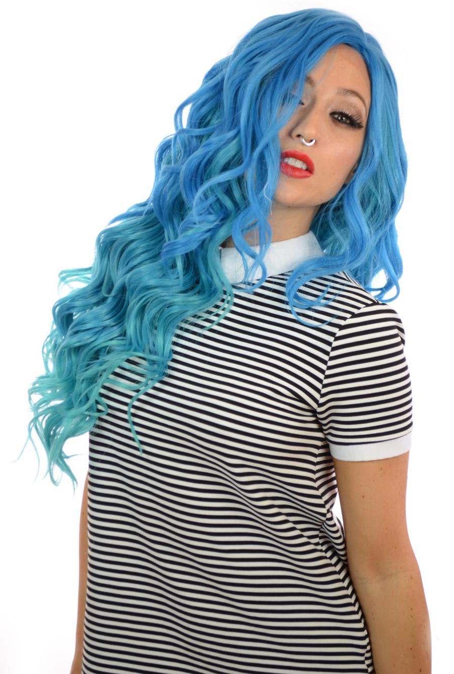 Carnival-Doll Aegean Blue Wig