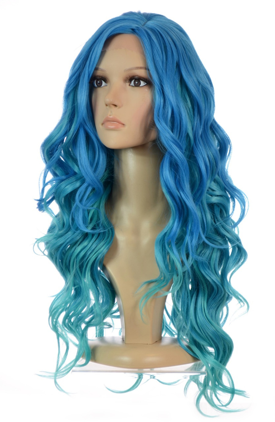 Carnival-Doll Ombre Blue Wig