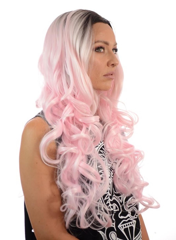 Pink Martini Gigi Lace wig