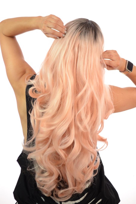Pink Lemonade Lace Front Gigi wig