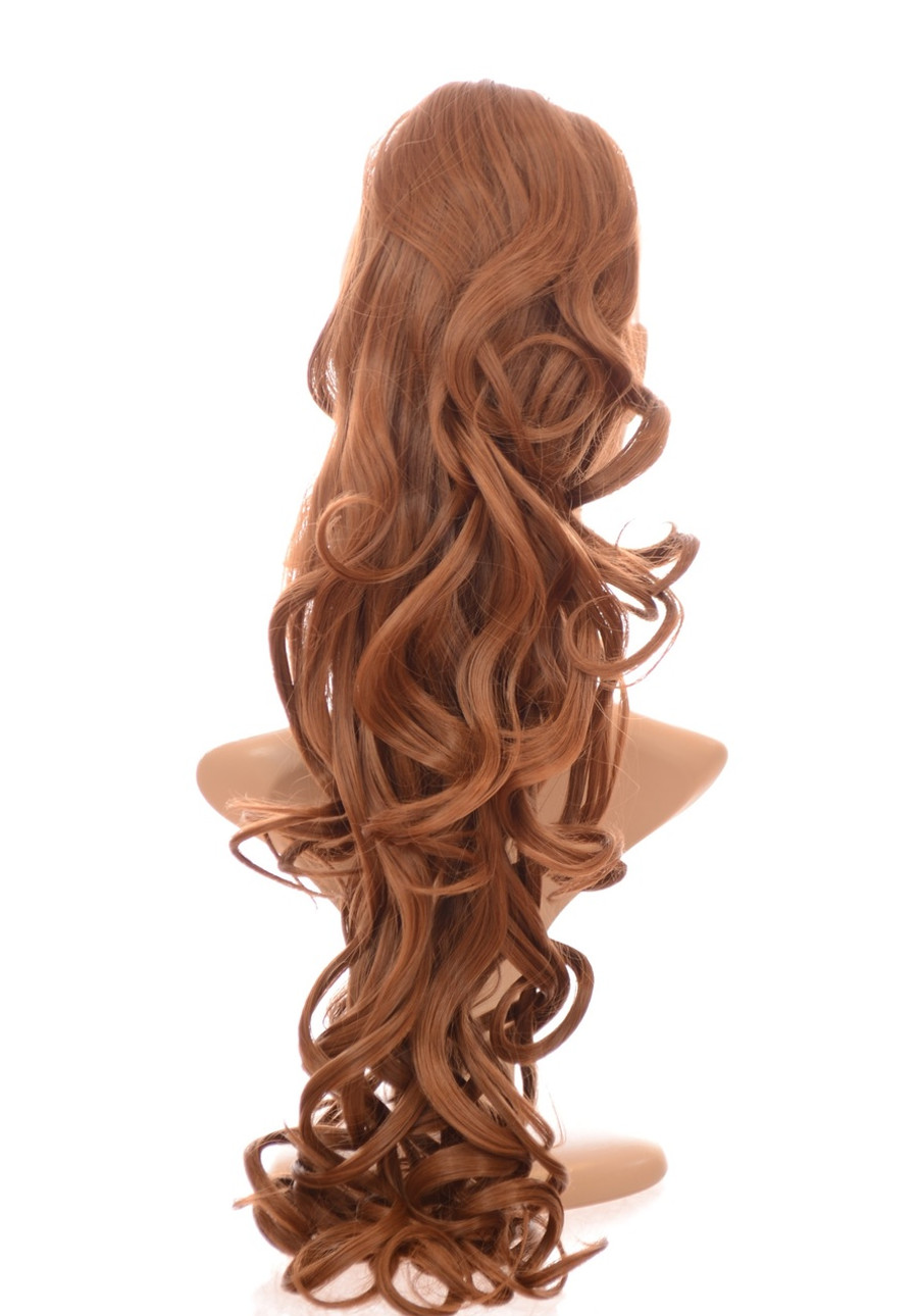 Pony Curly Caramel
