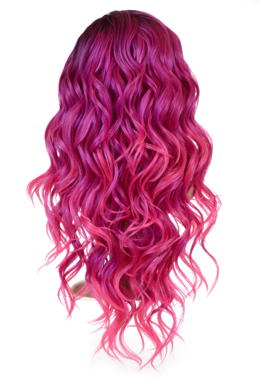 Wig Carnival-Doll Fuchsia Pink