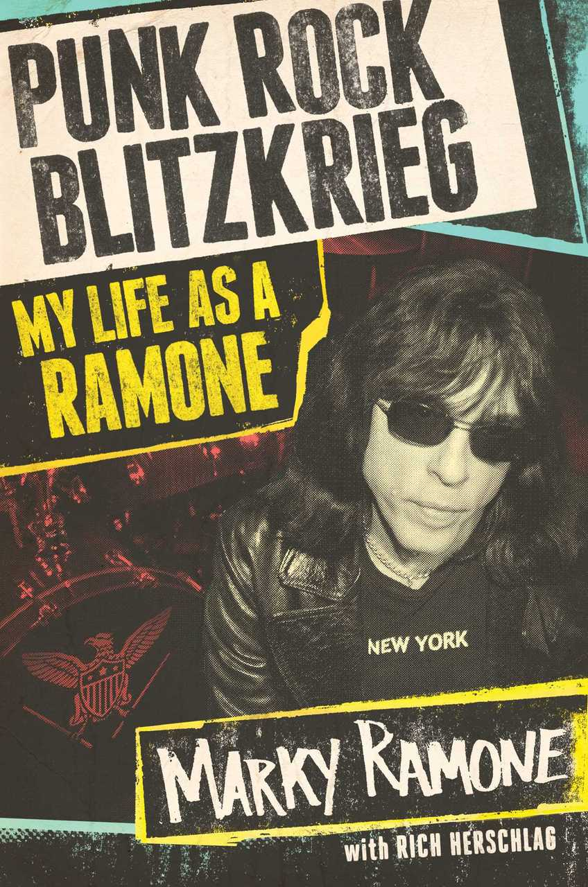 Punk Rock Blitzkrieg Autographed by Marky Ramone
