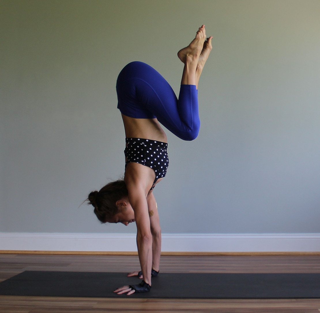 Four Poses to Improve Your Handstand