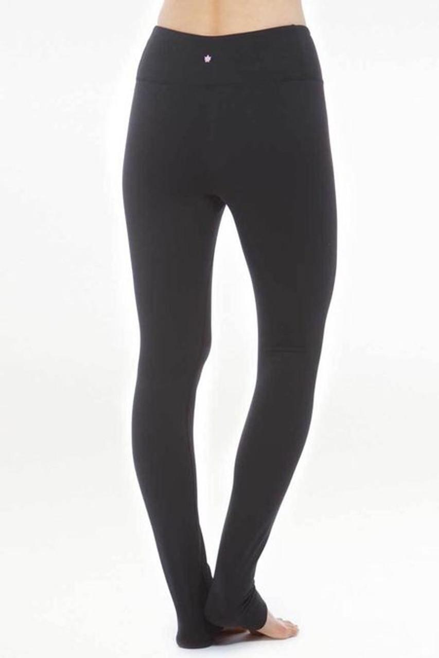 de5a248173e6c Grace High-Waisted Yoga Legging in Black | Bottoms | KiraGrace