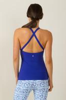 Grace Yoga Halter Paradise Blue