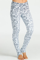 KiraGrace Grace Yoga Leggings in Etched Floral