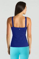 Grace Refined Yoga Cami in Paradise Blue