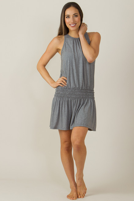KiraGrace Heather Grey Grace Yoga Dress