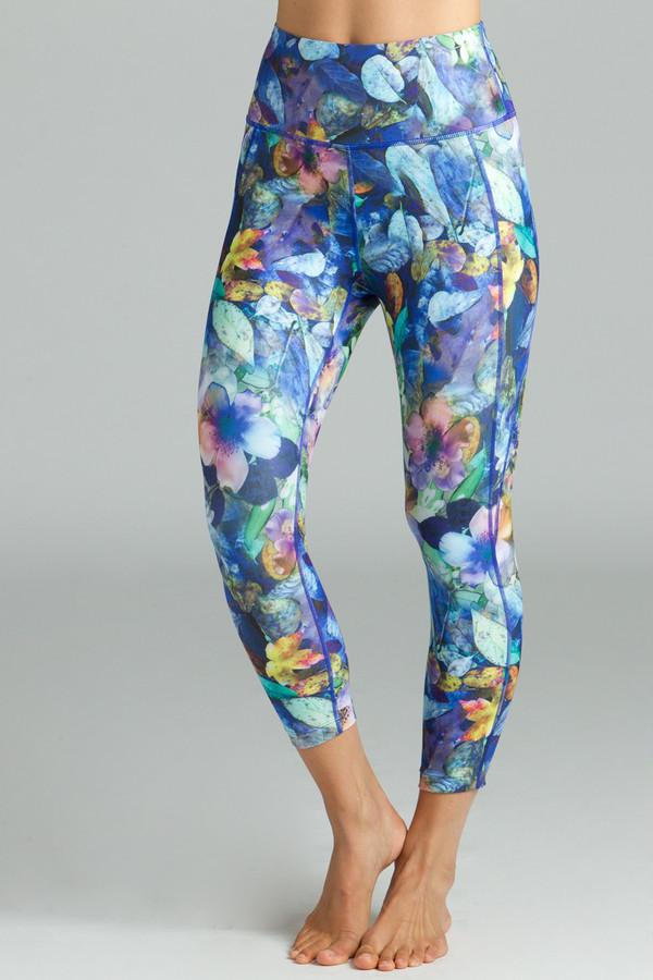 Printed High waist Yoga Capris Leggings