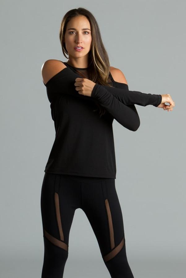 Cold Shoulder Yoga Outfit