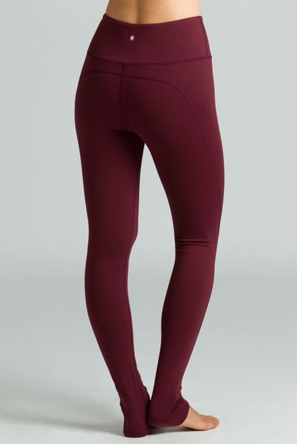 Ultra High Waist Yoga Legging (Bordeaux)