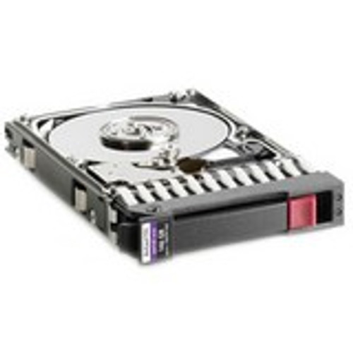 hp 146gb 15000 rpm 2.5' hot swap sas 3gb/s hard drive  504064-003  side