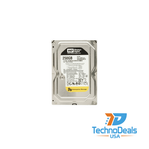 WESTERN DIGITAL 250GB 7200 RPM 64MB 3Gb/s SATA HARD DRIVE WD2503ABYX-01WERA1