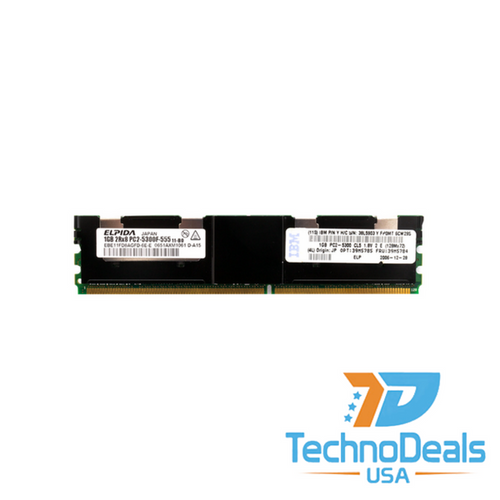 IBM 2GB (2 X 1GB) PC2-5300 CL5 ECC DDR2 38L5903