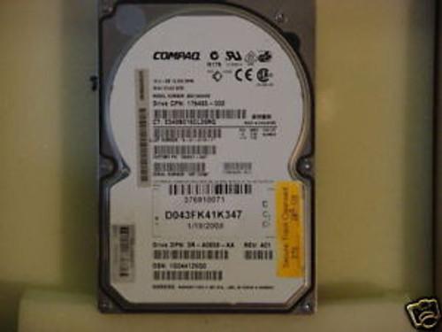 Compaq 18.2GB 10K RPM WIDE ULTRA 3 SCSI HS HDD 176493-002