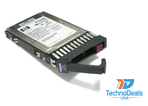 """HP 146GB 3G SAS 15K 3.5"""" DP HDD DF0146B8052"""