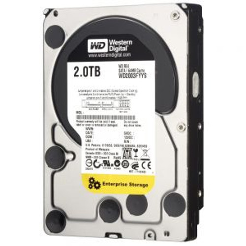 WESTERN DIGITAL 2TB 7200 RPM 64MB SATA HDD WD2003FYYS