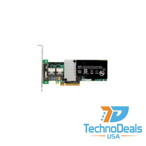 IBM SERVERAID M5015 6GBPS SAS PCIE RAID CONTROLLER W/ 512M BBU 46C8927