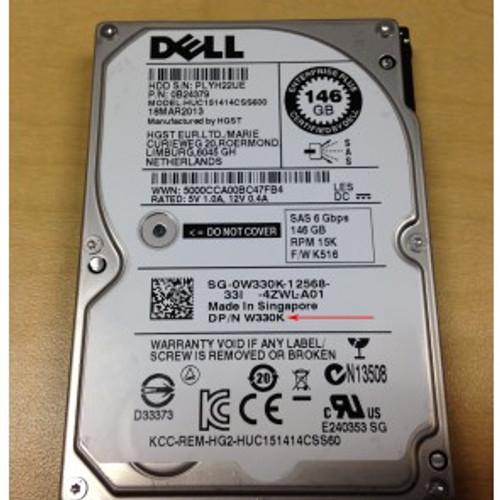 """DELL 146GB 15K 3G LFF SAS 3.5"""" HARD DRIVE ST3146356SS"""