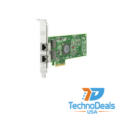 HP NC382T PCI-E DUAL PORT ADAPTER (HIGH BRACKET) 458492-B21