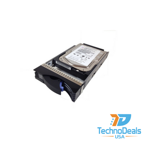 IBM 146GB 15K RPM 3.5-inch Hot-Plug 4Gbps Fibre Channel Hard Drive 40K6820