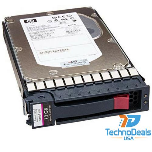 """HP 72GB 3G SAS 15K 3.5"""" SP HDD 375870-B21"""