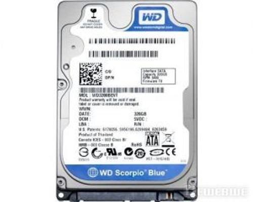 """WESTERN DIGTITAL 320GB SATA 2.5"""" 5400RPM HARD DRIVE WD3200BEVT"""