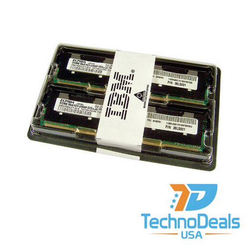 IBM 1GB (2 X 512MB) PC2-5300 KIT 38L5901