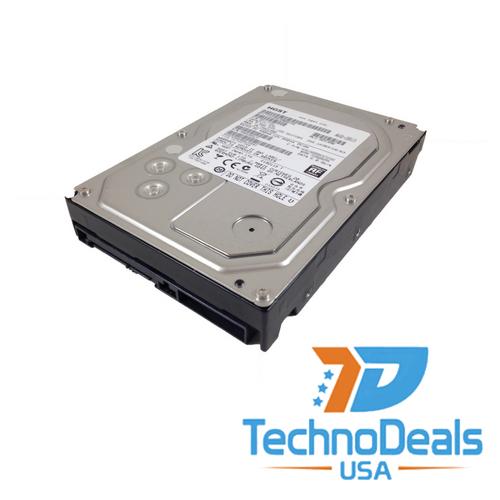 """hitachi 4tb 7200 rpm 64mb sata 6 gb/s 3.5"""" hard drive 0F19459"""