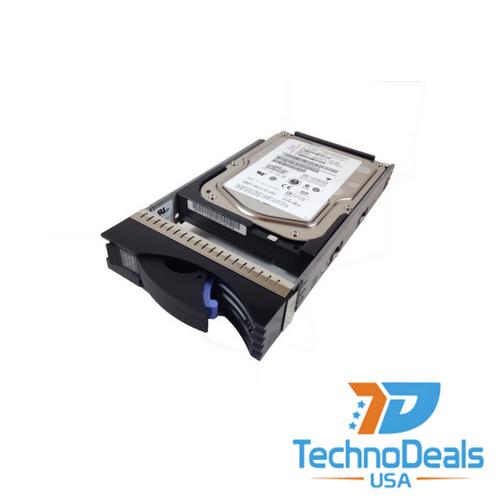 IBM 146GB 15K RPM 3.5-inch Hot-Plug 4Gbps Fibre Channel Hard Drive 40K6823
