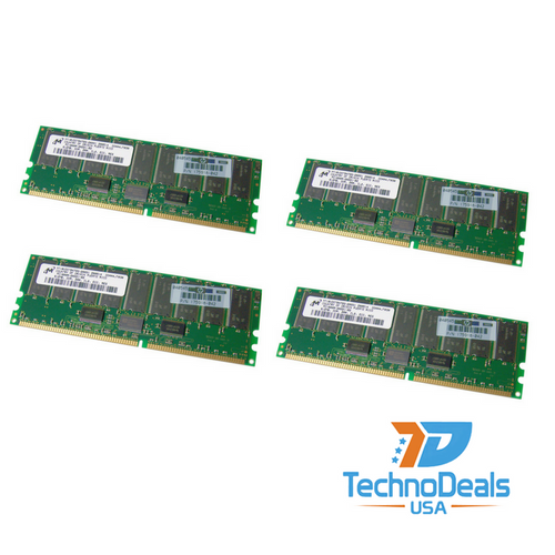 Compaq 2GB 200MHZ DDR PC1600 ECC SDRAM (4X512MB) 202171-B21