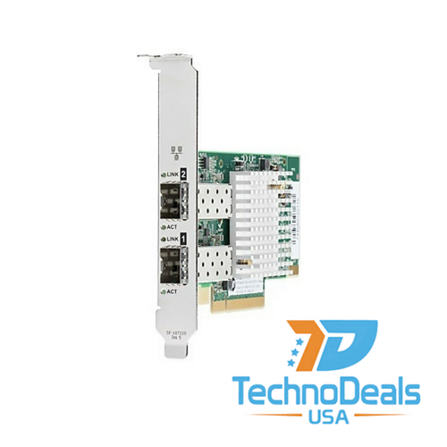 HP ETHERNET 10GB 2P 571SFP+ ADAPTER*BOTH BRACKETS 728530-001