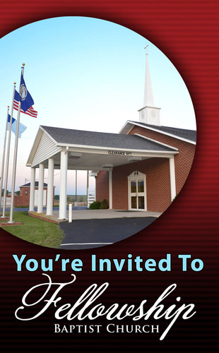 You're Invited Church Photo Circle