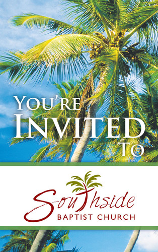 You're Invited Bright Palms