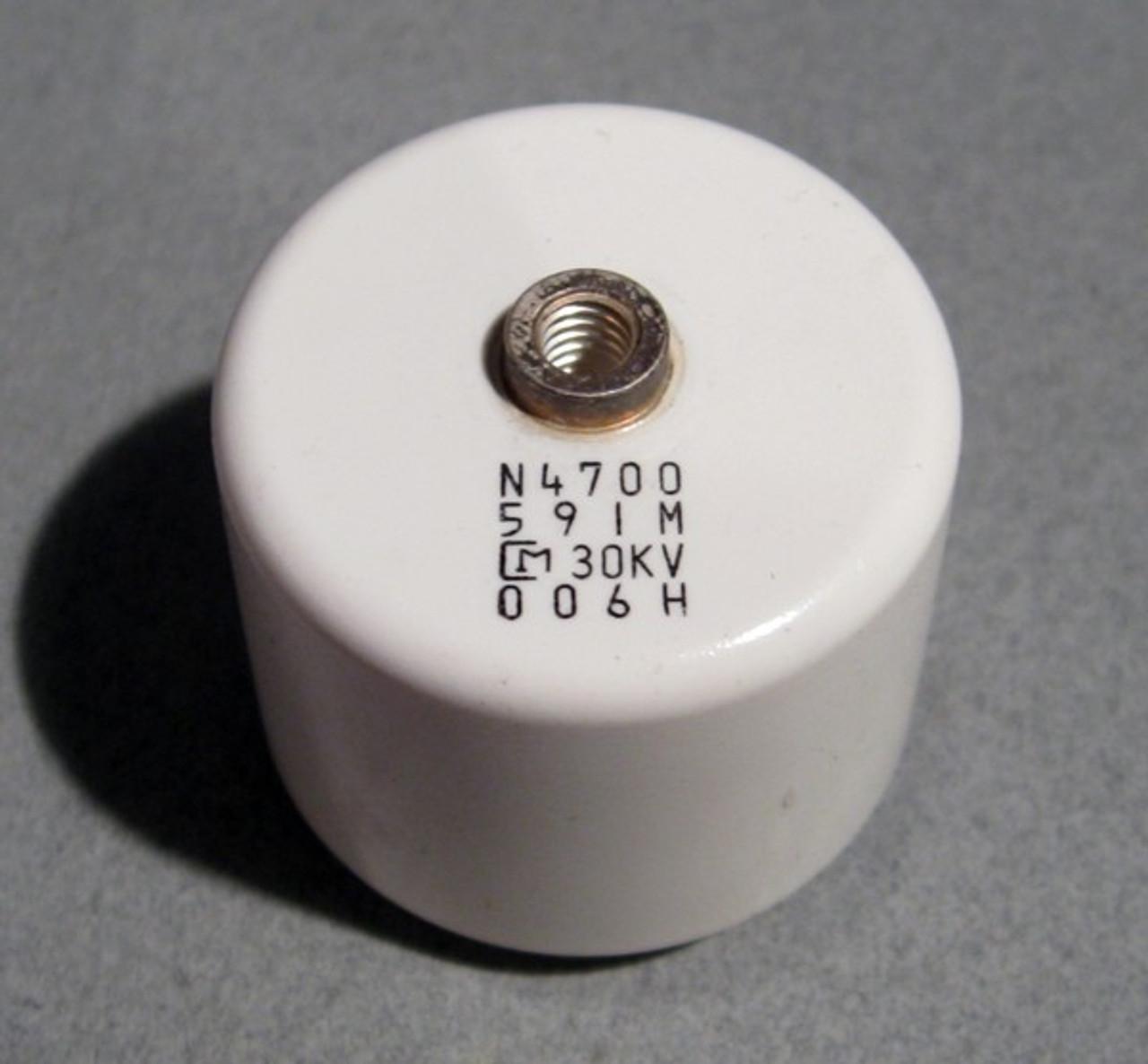 High Voltage Ceramic Capacitors 30kv 590pf Murata