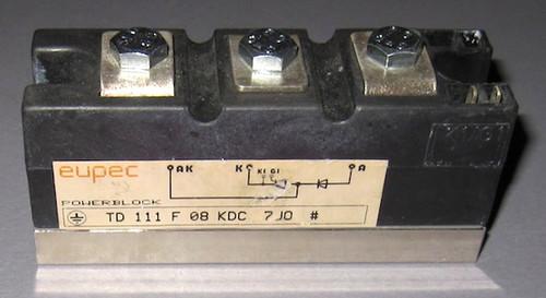 TD111F08KDC - SCR/Diode (Eupec) - Used