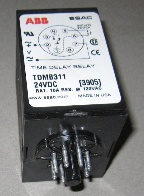 TDMB311- Time Delay Relay (ABB) - New/RFE