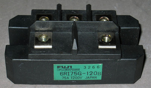 6RI75G-120B - Bridge Rectifier (Fuji) - Used