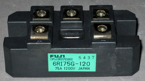 6RI75G-120 - Bridge Rectifier (Fuji) - Used