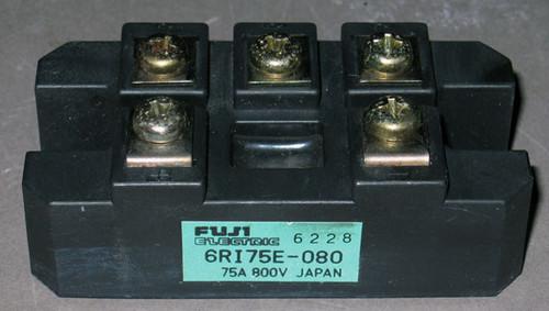 6RI75E-080 - Bridge Rectifier (Fuji) - Used